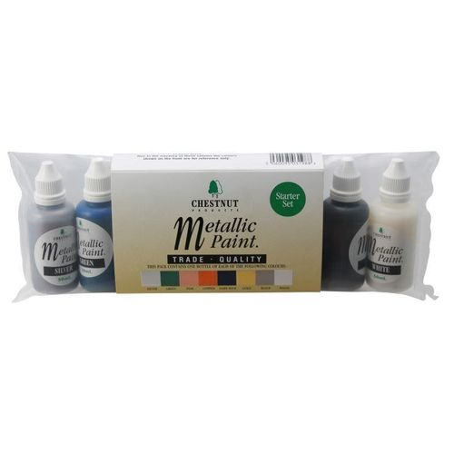 Chestnut Metallic Paint Start Set 8x30ml